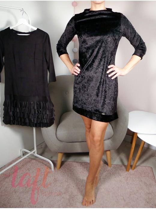 Zobraziť produkt · Čierne zamatové šaty d7c6791d625